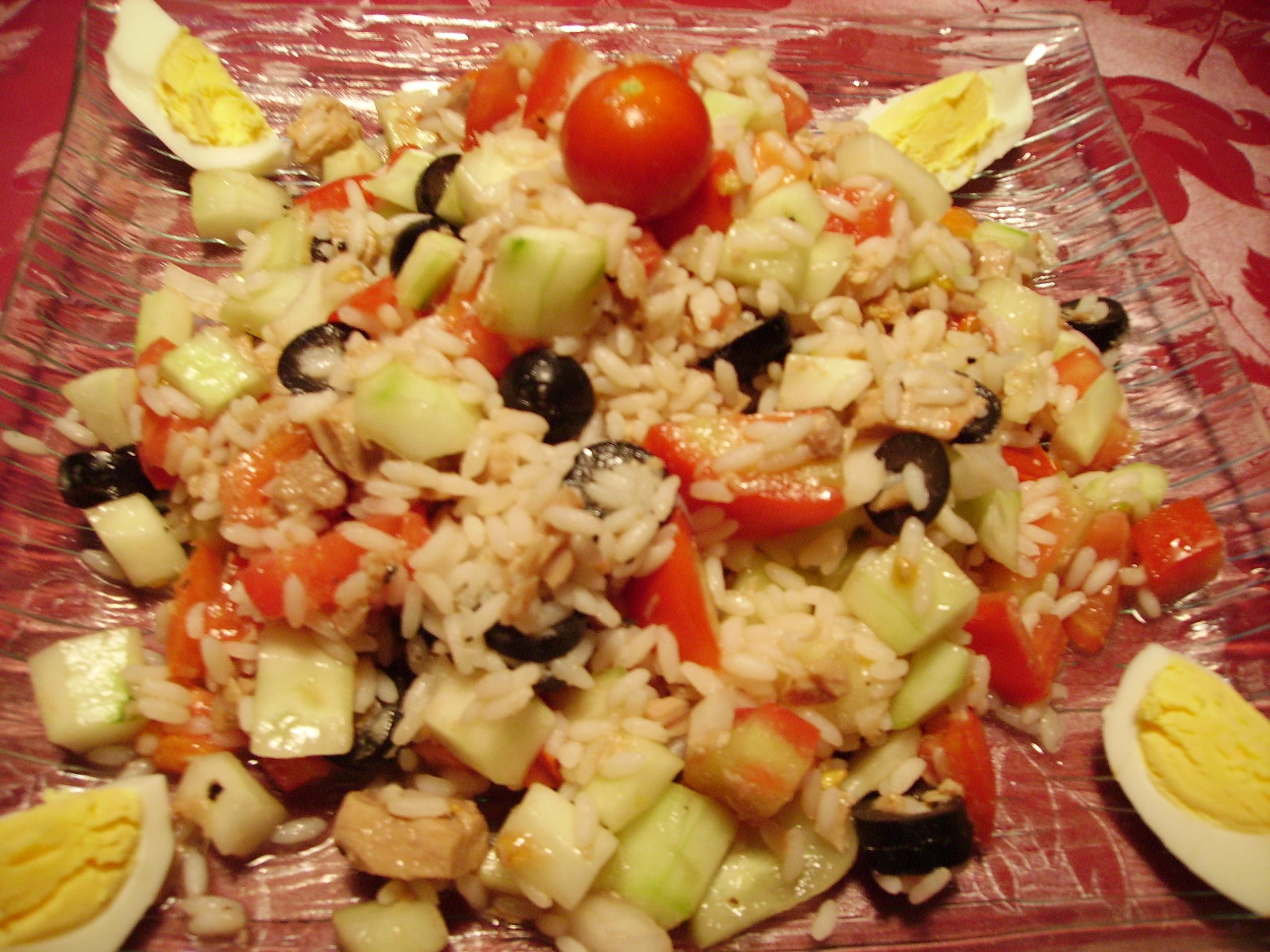 Salade De Riz Au Thon Qu Est Ce Qu On Mange
